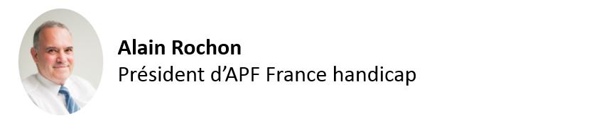 Alain rochon président APF